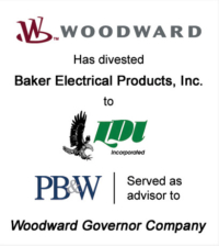 Woodward Industrial Aviation Control Divestiture