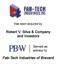 Fab-Tech Industries Aerospace Investment Banking