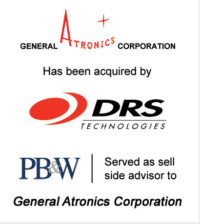 General Atronics Corporation Defense Investment Bank