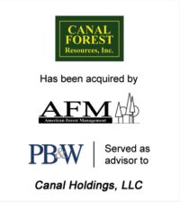 Canal Forest Resources Investment Banking