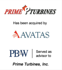 Prime Turbines Aerospace Investment Acquisitions